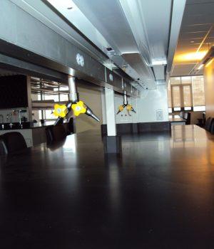 VHUP Rosenthal 3rd Floor- Under Shelf Detail